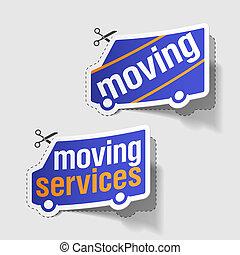 szolgáltatás, mozgató, elnevezés