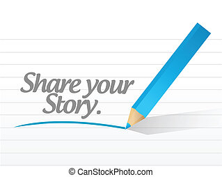 sztori, rész, üzenet, ábra, -e