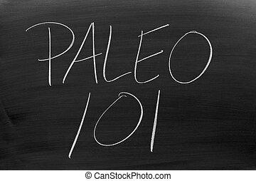 tábla, paleo, 101