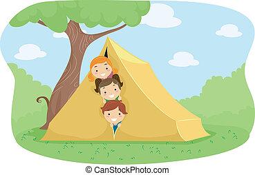 tábor, sátor