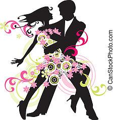 táncol