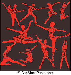 táncol, lets