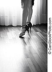 táncol, táncos, bálterem, latin