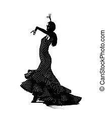 táncos, flemenco