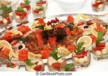 tányér, fish