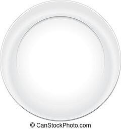 tányér, vektor