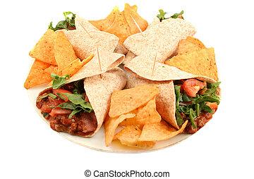 táplálék mexican, színes