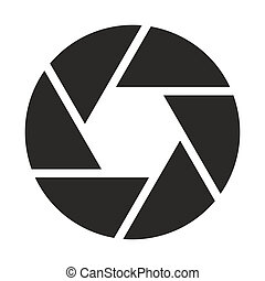 tárgyi, fényképezőgép, (symbol), ikon