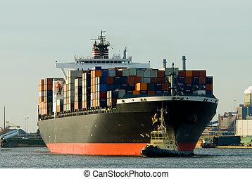 tároló hajó, hatalmas