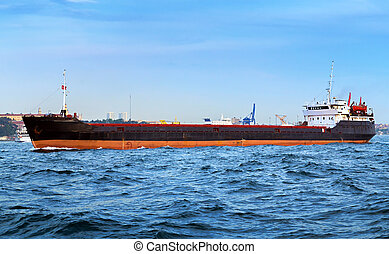 tároló hajó