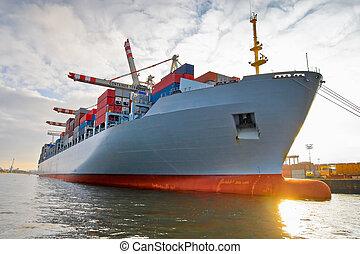 tároló hajó, rakomány, rakomány