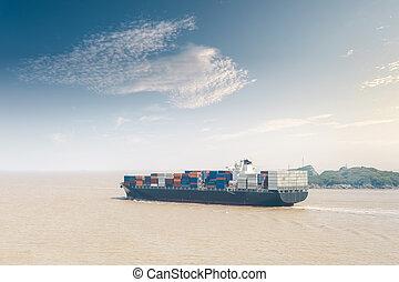 tároló hajó, rakomány
