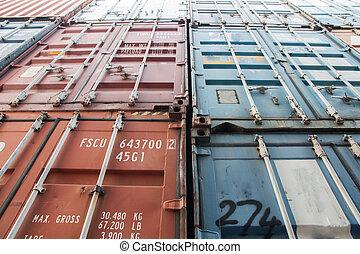 tároló, hajózás