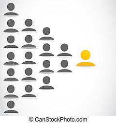 társadalmi, csoport, hálózat, emberek
