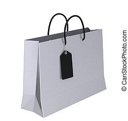 táska, fényűzés, bevásárlás