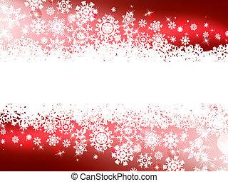 tél, piros háttér