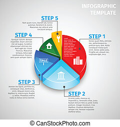 tényleges, infographic, pite, birtok, diagram