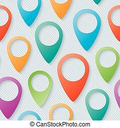 térkép, irányzók, walpaper.