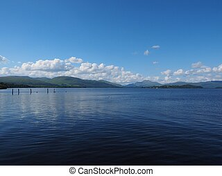 tó, skócia, lomond