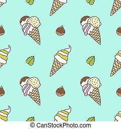 tölcsér, fagylalt