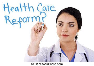 törődik, egészség, reform