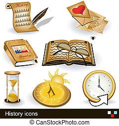 történelem, ikonok