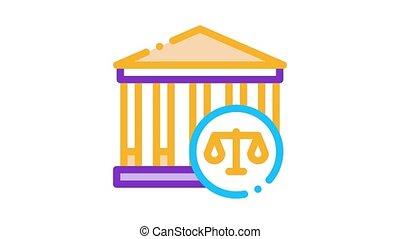 törvény, élénkség, törvényszéki épület, ikon, ítélőképesség