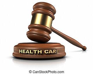 törvény, egészségügyi ellátás