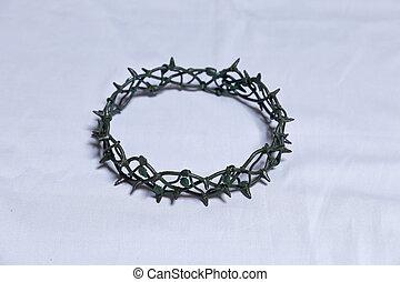 tövis, kálváriadomb, fejtető, krisztus, jézus