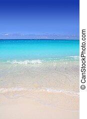 türkiz, caribbean, homok, tengerpart, tenger, white tengerpart