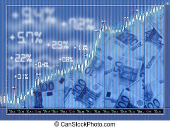tőzsdepiac, háttér, cserél