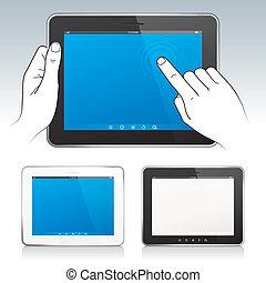 tabletta, digitális