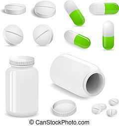 tabletta, pirula