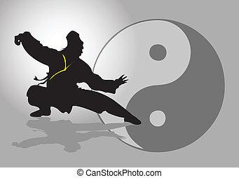 tai-chi., kínai