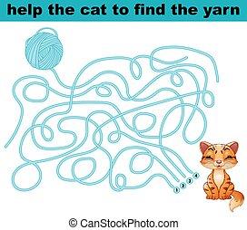 talál, segítség, mesél, macska