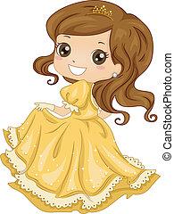 talár, hercegnő