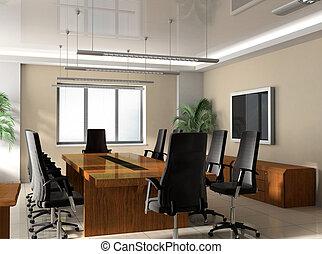 tanácskozóterem, hivatal
