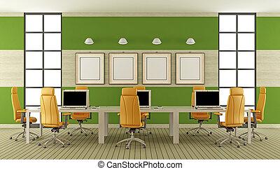 tanácskozóterem, modern