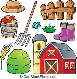 tanya, 1, téma, gyűjtés