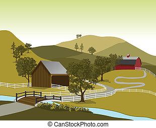 tanya, amerikai, színhely