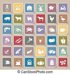 tanya, böllér, állhatatos, ikonok