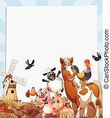 tanya, eleven, farmland, állatok