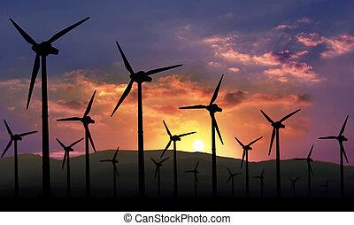 tanya, eolian, energia, megújítható