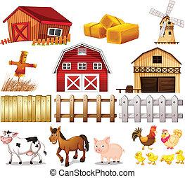 tanya, ruhanemű, állatok, alapít