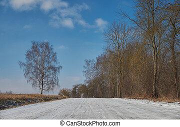 tanya, tél, út