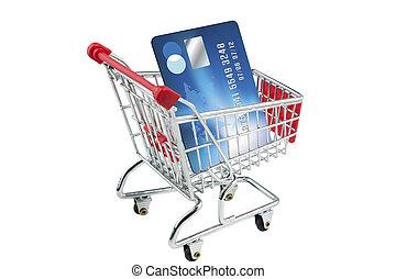 targonca, hitel, bevásárlás, kártya