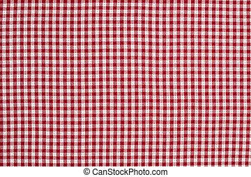 tarkán szőtt pamutszövet, tarka, háttér, abrosz, white piros