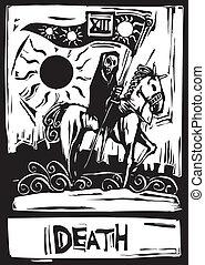 tarot, halál, kártya