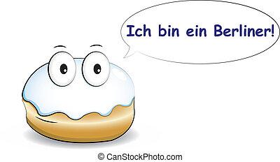 tartó, ich, berliner!, a