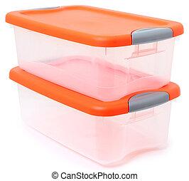 tartó, tárolás tároló, műanyag